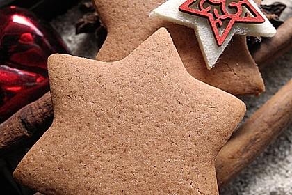 Knusprige Weihnachtskekse / Nikolauskekse zum Ausstechen 1