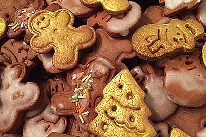 Knusprige Weihnachtskekse / Nikolauskekse zum Ausstechen 0