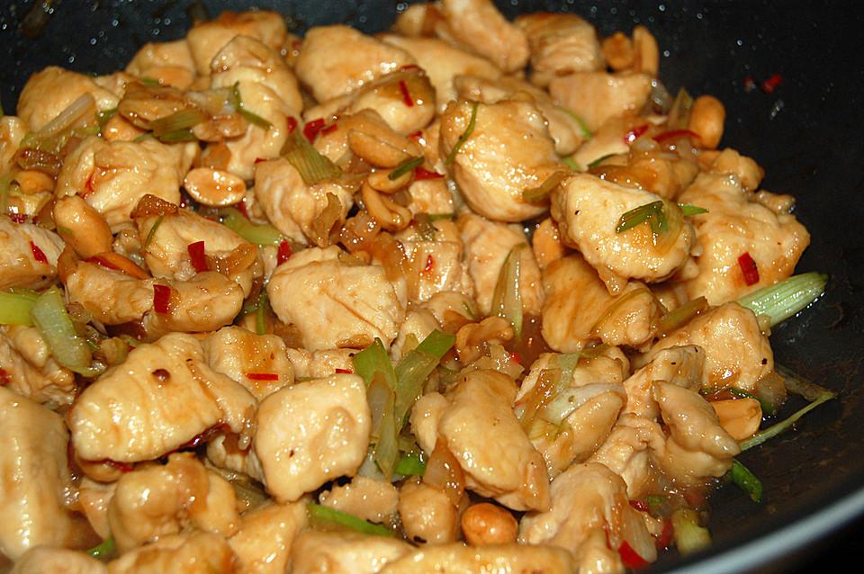 Gong Bao Chicken Recipe — Dishmaps