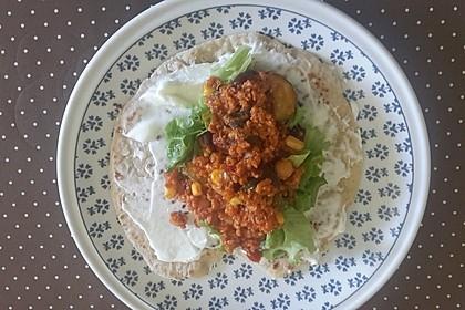 Tortillas aus Weizenmehl 41