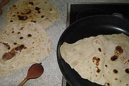 Tortillas aus Weizenmehl 36