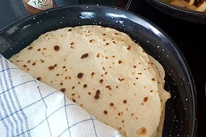 Tortillas aus Weizenmehl 45