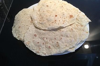 Tortillas aus Weizenmehl 8