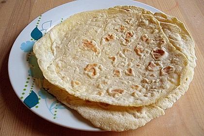 Tortillas aus Weizenmehl 9