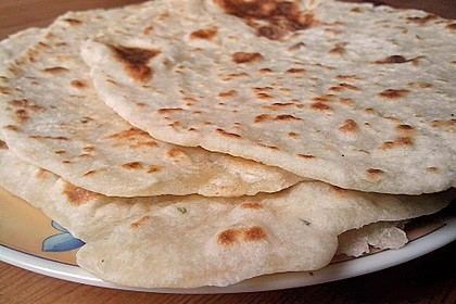 Tortillas aus Weizenmehl 1