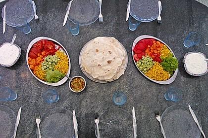 Tortillas aus Weizenmehl 5