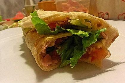 Tortillas aus Weizenmehl 14
