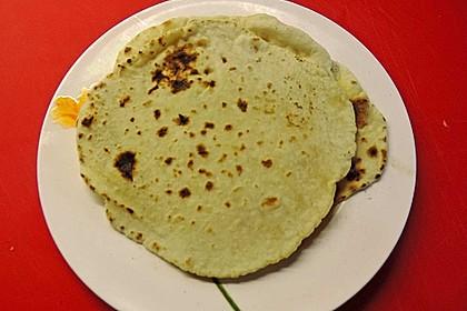 Tortillas aus Weizenmehl 39