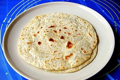 Tortillas aus Weizenmehl 17