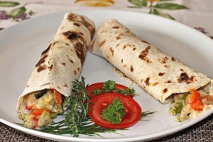 Tortillas aus Weizenmehl 2