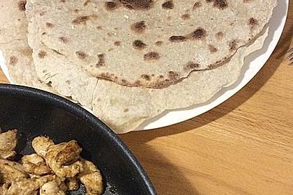Tortillas aus Weizenmehl 34