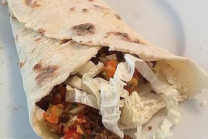 Tortillas aus Weizenmehl 20