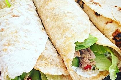 Tortillas aus Weizenmehl 4