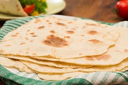 Tortillas aus Weizenmehl 6
