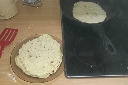 Tortillas aus Weizenmehl 40
