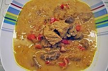 Gulaschsuppe mit Sauerkraut