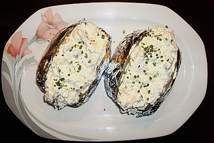 Folienkartoffeln mit Matjes 3