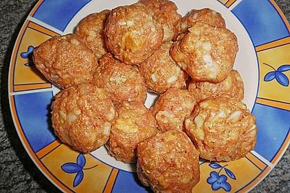 Griechische Hackbällchenspieße mit Fetakern und Tomatenreis 29