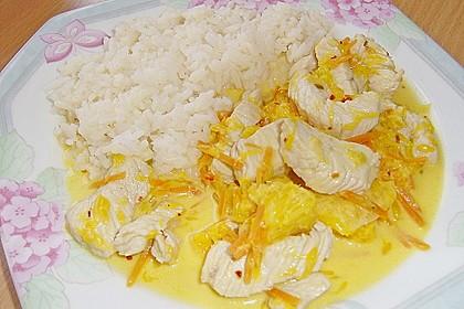 Putengeschnetzeltes mit Karotten - Orangen - Soße 42