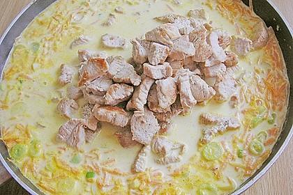 Putengeschnetzeltes mit Karotten - Orangen - Soße 66