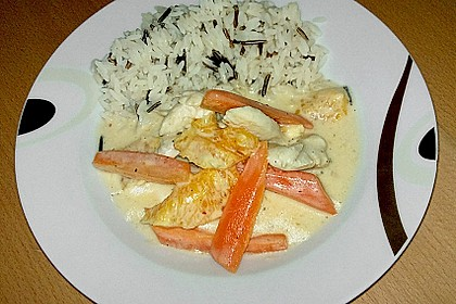 Putengeschnetzeltes mit Karotten - Orangen - Soße 30