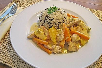 Putengeschnetzeltes mit Karotten - Orangen - Soße 7