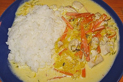 Putengeschnetzeltes mit Karotten - Orangen - Soße 61