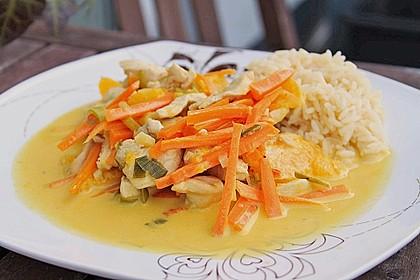 Putengeschnetzeltes mit Karotten - Orangen - Soße 3