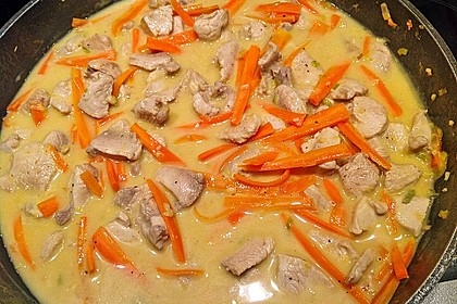 Putengeschnetzeltes mit Karotten - Orangen - Soße 54