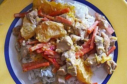 Putengeschnetzeltes mit Karotten - Orangen - Soße 68