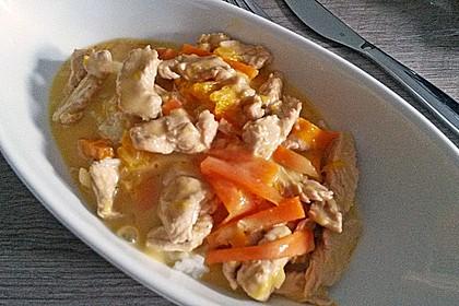 Putengeschnetzeltes mit Karotten - Orangen - Soße 44
