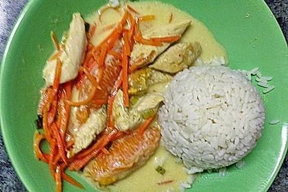 Putengeschnetzeltes mit Karotten - Orangen - Soße 70