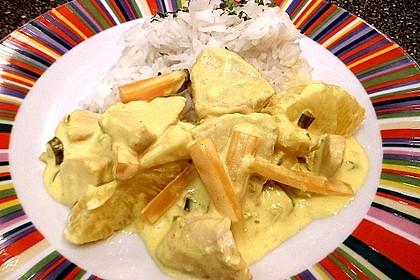 Putengeschnetzeltes mit Karotten - Orangen - Soße 55