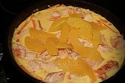 Putengeschnetzeltes mit Karotten - Orangen - Soße 62