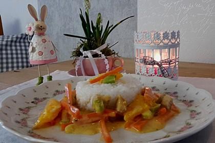 Putengeschnetzeltes mit Karotten - Orangen - Soße 46