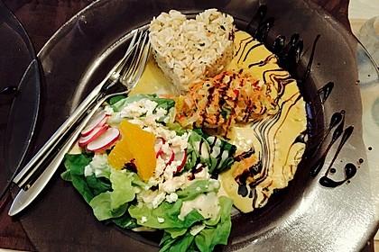 Putengeschnetzeltes mit Karotten - Orangen - Soße 11