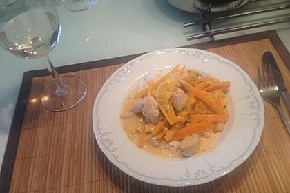 Putengeschnetzeltes mit Karotten - Orangen - Soße 32