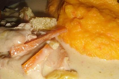 Putengeschnetzeltes mit Karotten - Orangen - Soße 67