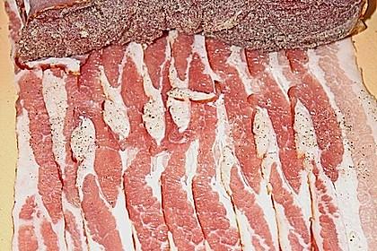 NT - Schweinefilet im Speckmantel mit Champignons und Spätzle 36