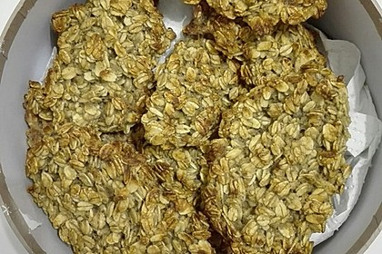 Vollkorn - Bananen - Kekse ohne Zucker und Fett 5