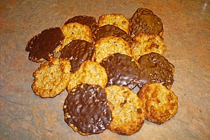 Vollkorn - Bananen - Kekse ohne Zucker und Fett 2