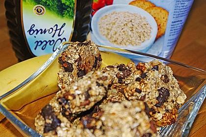 Vollkorn - Bananen - Kekse ohne Zucker und Fett