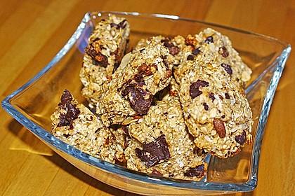 Vollkorn - Bananen - Kekse ohne Zucker und Fett 10