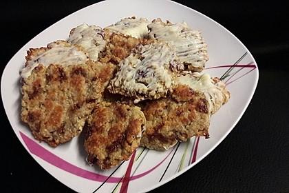 Vollkorn - Bananen - Kekse ohne Zucker und Fett 12