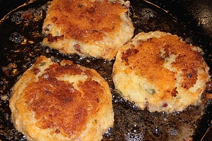 Kartoffelpüree - Bratlinge 2