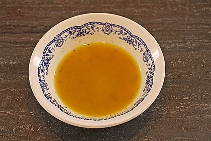 Schnelle Vinaigrette Essig - Öl - Senf 16