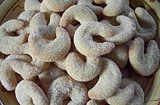 Vanillekipferl, gerührt - und nicht geknetet