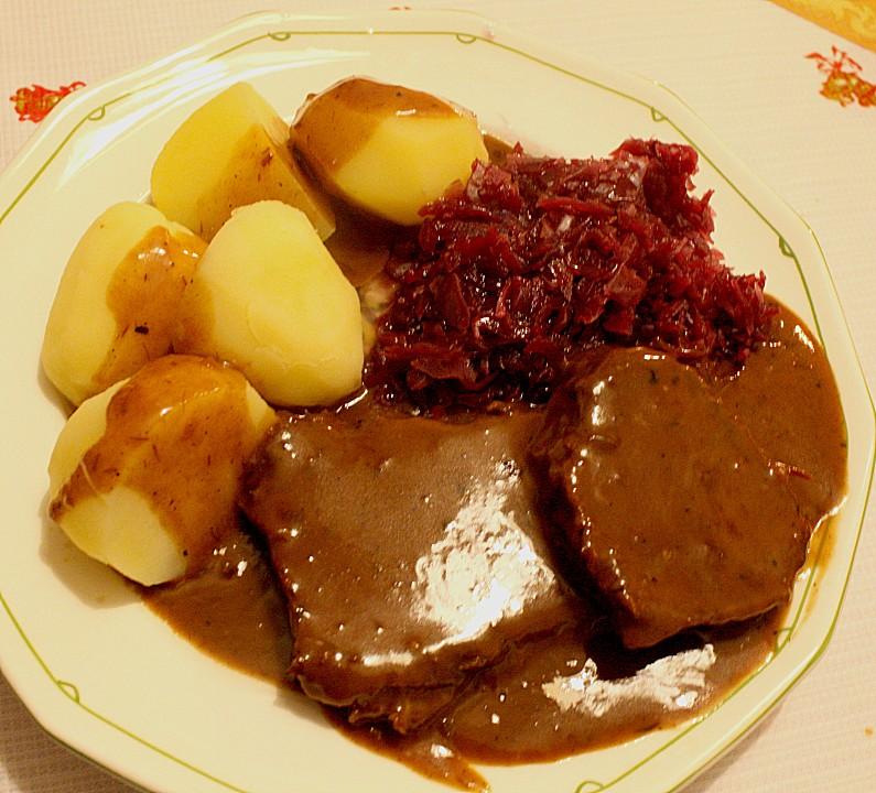 Omas rheinischer Sauerbraten (Rezept mit Bild) von ...