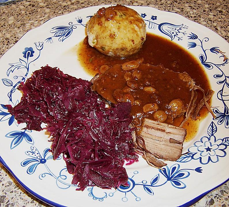 Sauerbraten Nach Omas Rezept