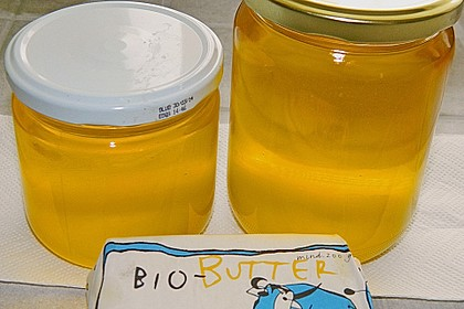 Ghee, bzw. Butterschmalz, selber hergestellt 30